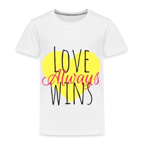 Love Always wins - Kids' Premium T-Shirt