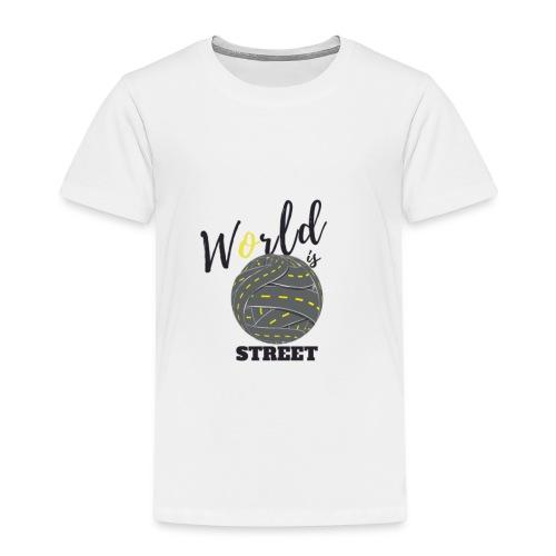 World is Street - T-shirt Premium Enfant