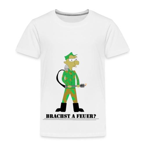 Brauchst A Feuer? - Kinder Premium T-Shirt