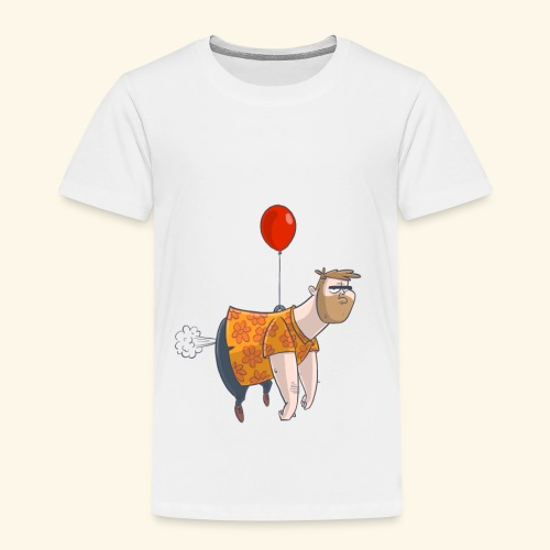 Ballon man - Kinderen Premium T-shirt