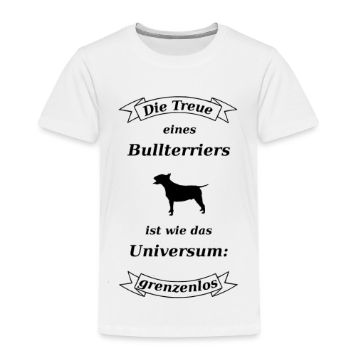 Bullterriers Treue - Kinder Premium T-Shirt