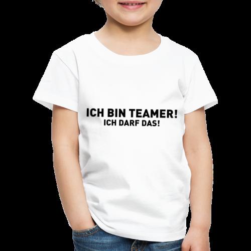 Ich bin Teamer! - Ich darf das! - Kinder Premium T-Shirt