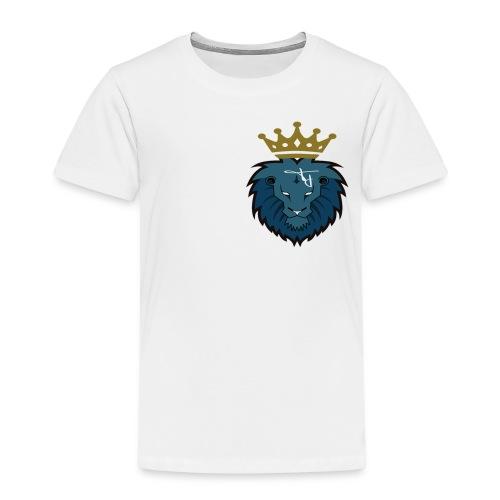 plain logo with crown - Kids' Premium T-Shirt