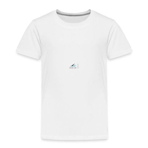 DAVETOP LOGO - Kinder Premium T-Shirt