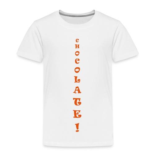 Chocolate - Maglietta Premium per bambini