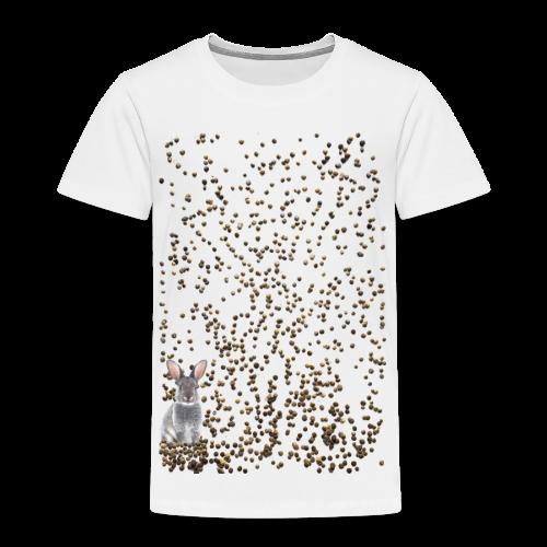rabbit droppings mogosop - Kinderen Premium T-shirt
