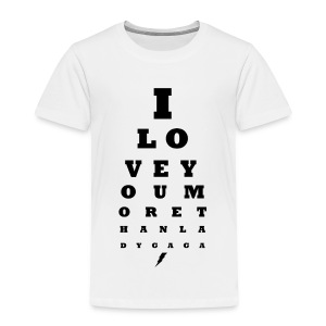 GoGo for GAGA - I love you more than Lady G... - Kids' Premium T-Shirt