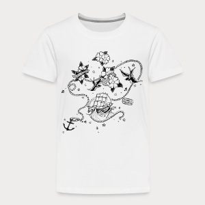 Mon Amour • Under My Skin • - T-shirt Premium Enfant