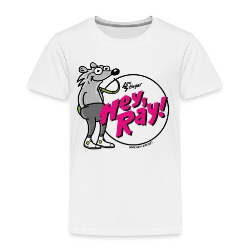 Hey Ray! Logo magenta - Kinder Premium T-Shirt