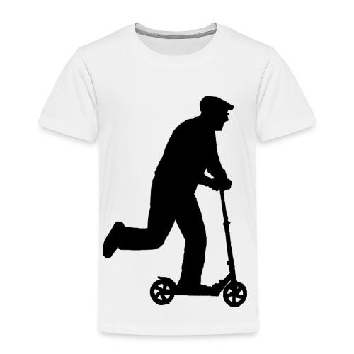 Alter Mann in Bewegung - Kinder Premium T-Shirt