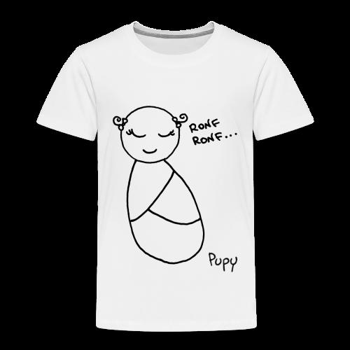 Pupy: ronf ronf... - girl - Maglietta Premium per bambini