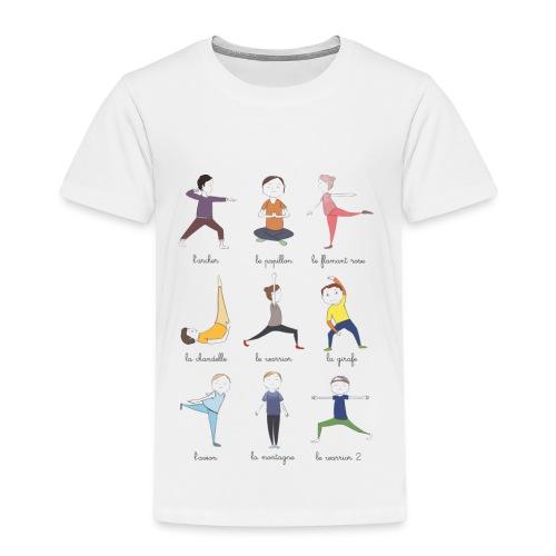 Little yogis - T-shirt Premium Enfant