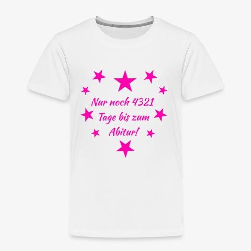 Schulanfang Pink - Kinder Premium T-Shirt