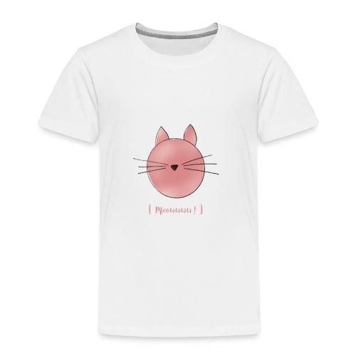 Katze [Meowww!] - Kinder Premium T-Shirt