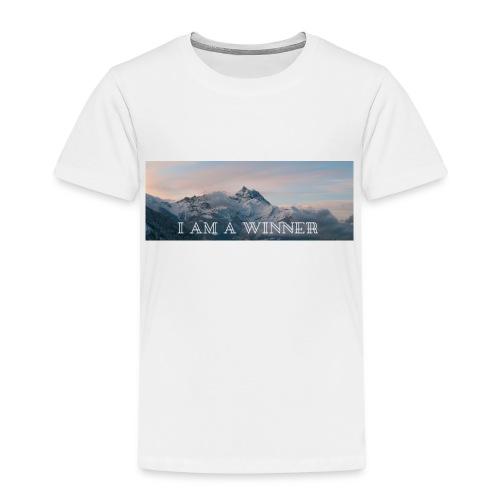 jestem zwycie zca eng - Koszulka dziecięca Premium