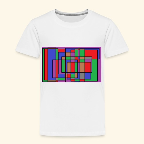 qwe art - Premium-T-shirt barn