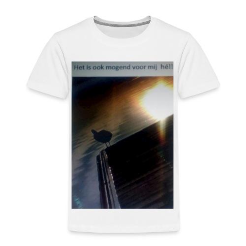 'tis morgend voor iedereen - Kinderen Premium T-shirt