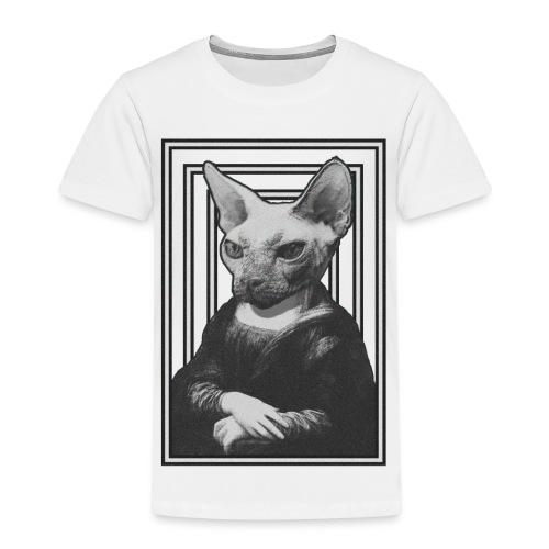 CAT LISA - Camiseta premium niño