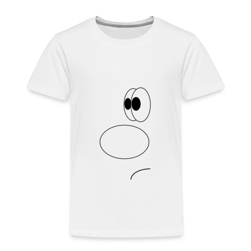 gezicht - Kinderen Premium T-shirt