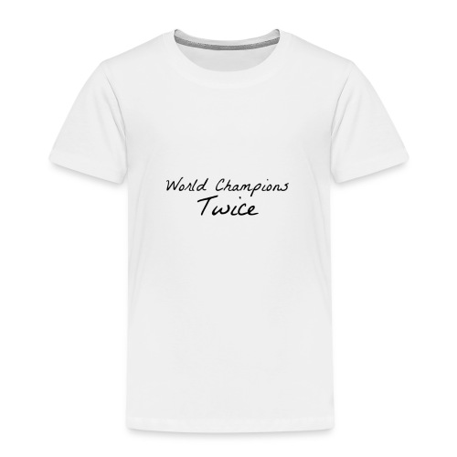 World Champions Twice - Kids' Premium T-Shirt