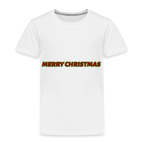 Merry Christmas logo - Kids' Premium T-Shirt