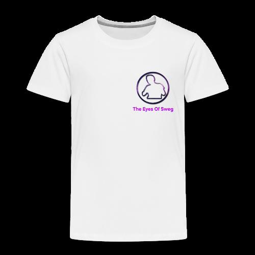 Galaxy Logo - Kids' Premium T-Shirt
