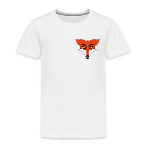 Renard Orange Cartoon - T-shirt Premium Enfant