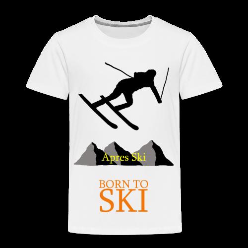 Schishirt - Kinder Premium T-Shirt