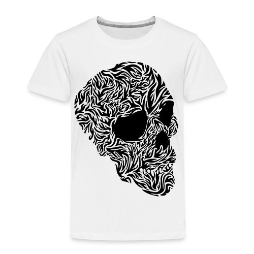 tribal Totenkopf - Kinder Premium T-Shirt