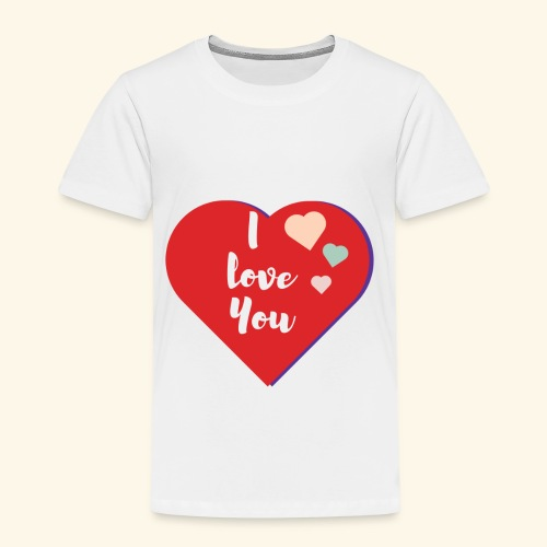 I Love You - T-shirt Premium Enfant