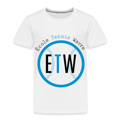 logo rond tennis vert - T-shirt Premium Enfant