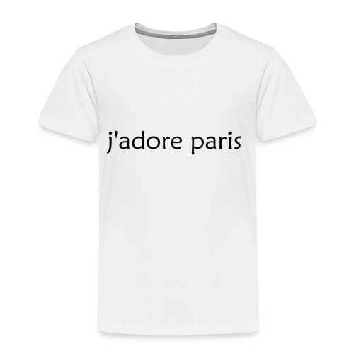 'I Love Paris' French - Kids' Premium T-Shirt