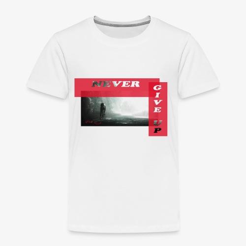 NEVER GIVE UP - Camiseta premium niño