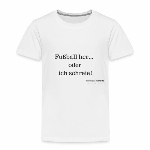#Unterligamomente - Kinder Premium T-Shirt