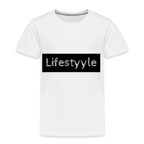Lifestyyle schwarz - Kinder Premium T-Shirt