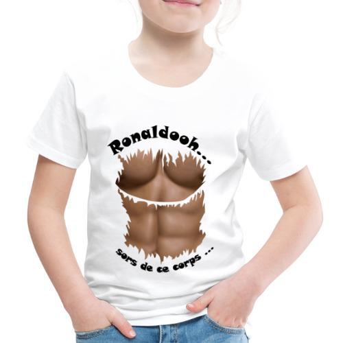 Ronaldooh abdominaux football FC - T-shirt Premium Enfant
