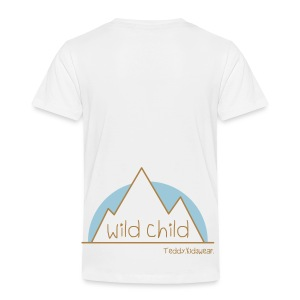 Teddy.Kidswear. – wild child - Kinder Premium T-Shirt