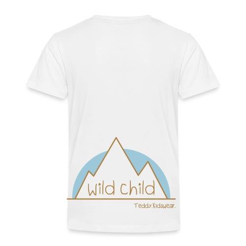 Teddy.Kidswear. – wild child - Kinder Premium T-Shirt