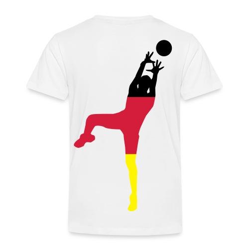 ► Basketball Deutschland Holland - ALLE Farben - Kinder Premium T-Shirt