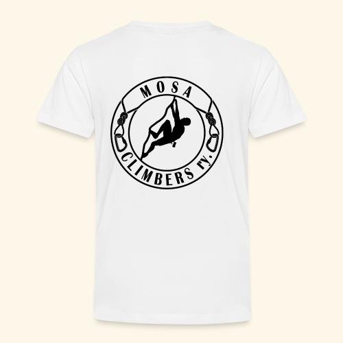 Mosa climbers black - Lasten premium t-paita
