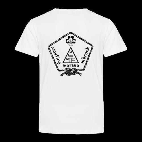 Marsua Zwart - Kinderen Premium T-shirt