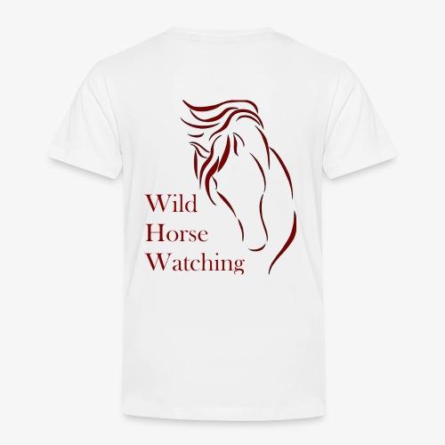Logo Aveto Wild Horses - Maglietta Premium per bambini