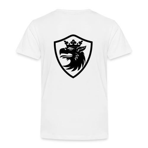 Skånes Landskapsvapen, Gripen - Premium-T-shirt barn