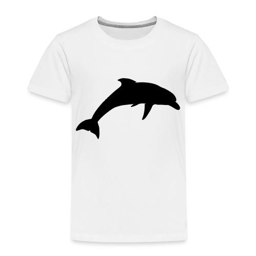 dolphin silhouette - Kids' Premium T-Shirt