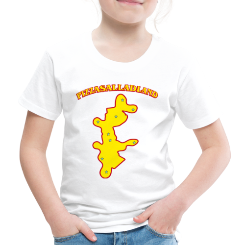 T-shirt, Pizzasalladland - Premium-T-shirt barn