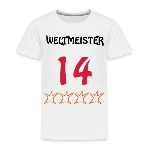 Weltmeister 2014 - Kinder Premium T-Shirt