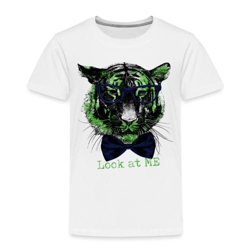 Tigerkopf_Look at me - Kinder Premium T-Shirt