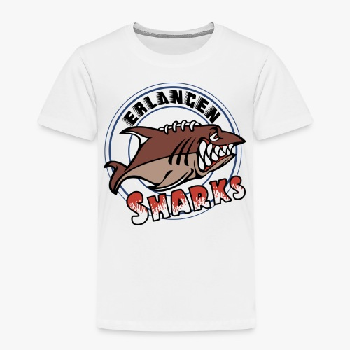 Erlangen Sharks Color - Kinder Premium T-Shirt
