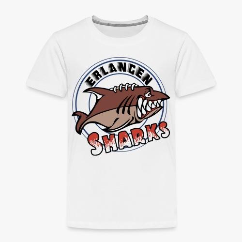 Erlangen Sharks Logo - Kinder Premium T-Shirt