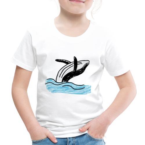 Wal - Whale - Ocean - Meer - Sea - Kinder Premium T-Shirt